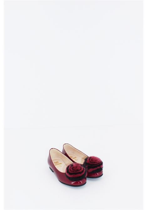EQUERRY | Shoe dancer | BALL032BORDEAUX