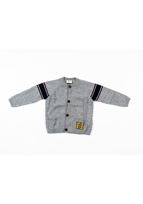 FENDI | wool sweater | FEN155GRIGIO