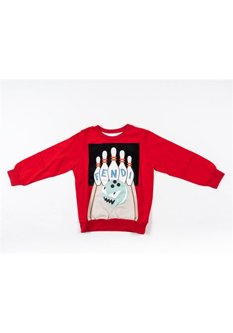 FENDI | sweatshirt | FEN165ROSSO