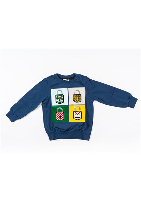 FENDI | sweatshirt | FEN168BLUETTE