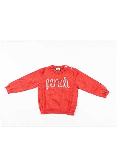 FENDI | wool sweater | FEN184ROSA SCURO