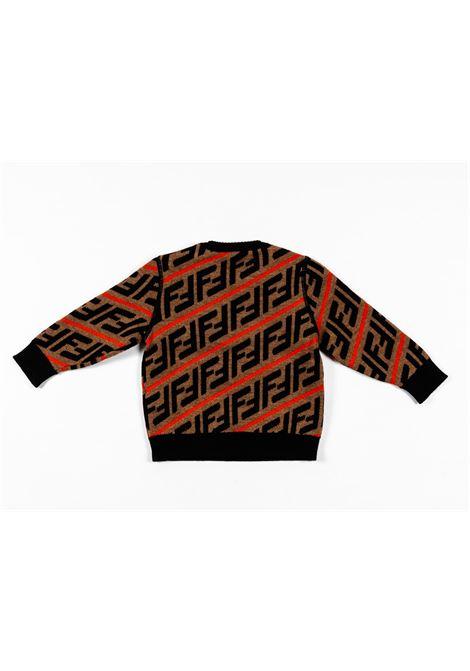 FENDI | wool sweater | FEN185NERO FANTASIA