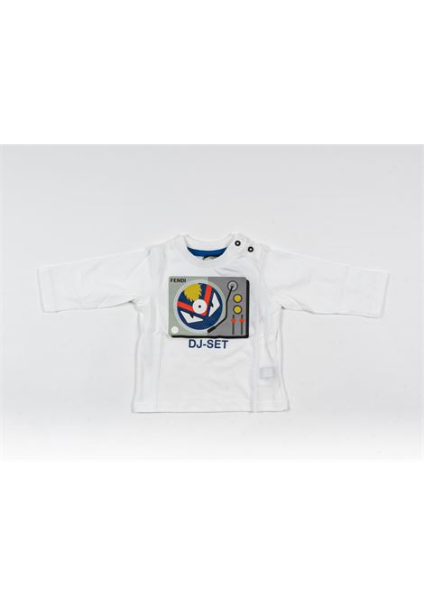 FENDI | t-shirt long sleeve | FEN192BIANCO