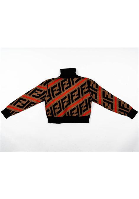 FENDI | wool sweater | FEN197NERO FANTASIA