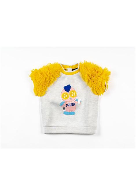 FENDI | sweatshirt | FEN198GRIGIO CHIARO