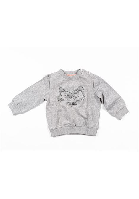 FENDI | sweatshirt | FEN199GRIGIO
