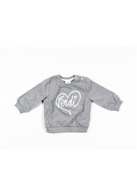 FENDI | sweatshirt | FEN200GRIGIO GRIGIO