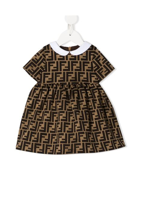 FENDI | Dress | FEN286BEIGE LOGO