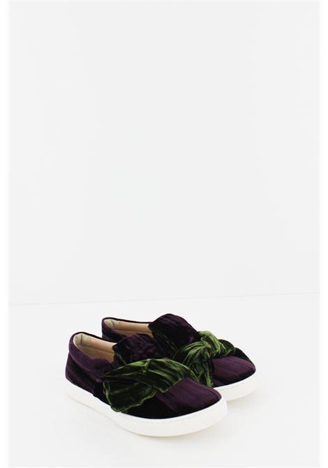 FLORENS | Sneakers | SNEAK004PRUGNA-VERDE