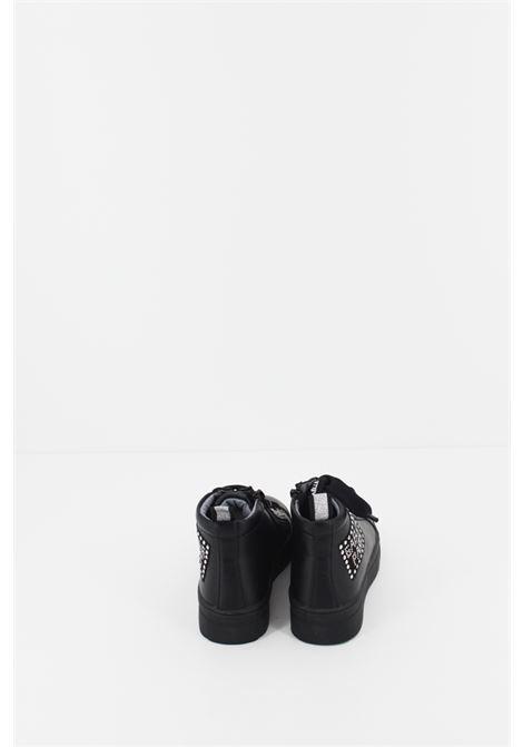 GAELLE | Sneakers | SNEAK074NERA-ARGENTO