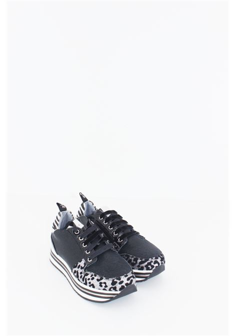 GAELLE | Sneakers | SNEAK075ANIMALIER GRIGIA