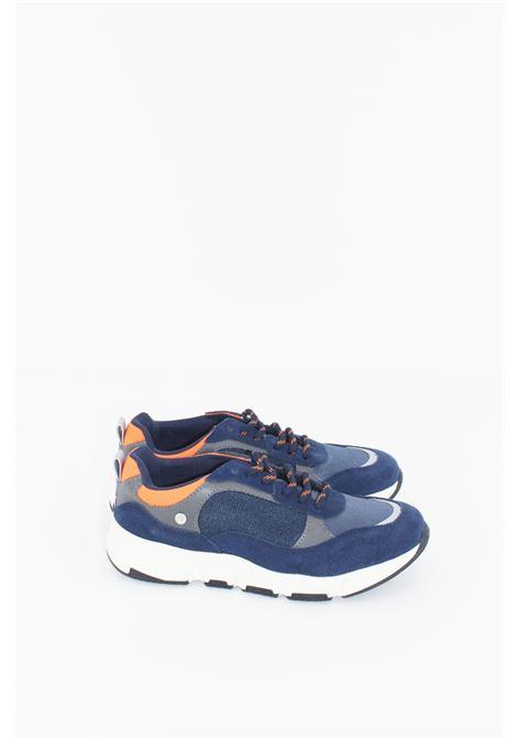 GIOSEPPO | Sneakers | GIO409BLU-ARANCIO