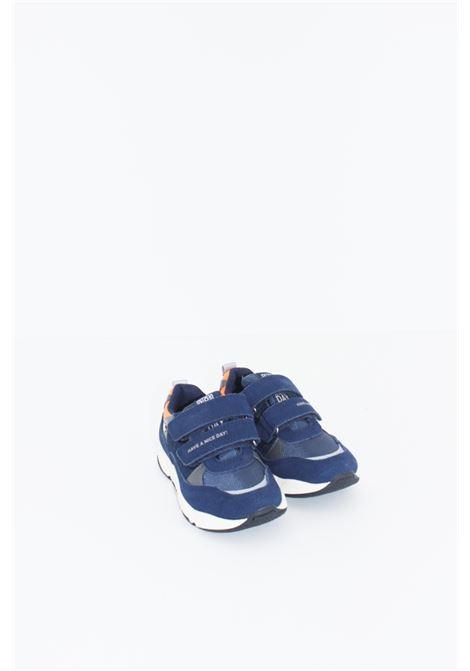 GIOSEPPO | Sneakers | GIO410BLU-ARANCIO