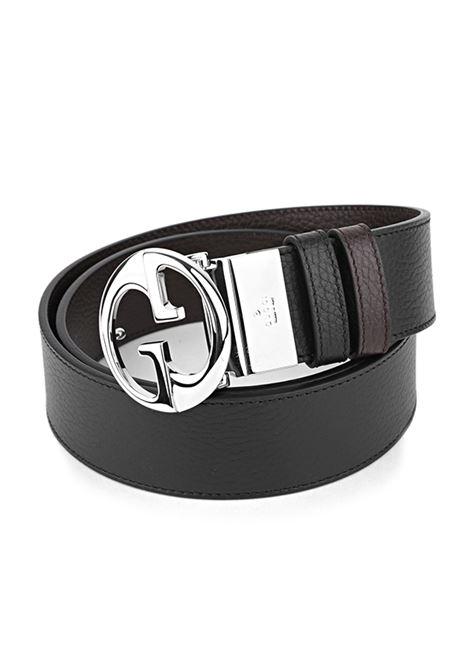 GUCCI | belt | 449715MARRONE-NERA
