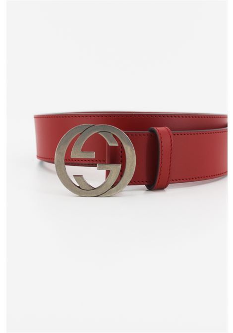 GUCCI | belt | 546389ROSSA