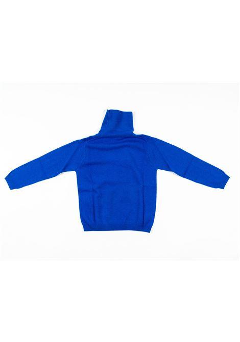 IL GUFO | wool sweater | ILG230BLUETTE