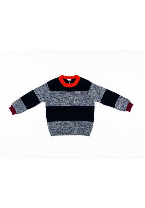 IL GUFO | wool sweater | ILG231BLU