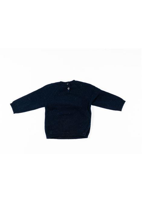 IL GUFO | wool sweater | ILG233BLU
