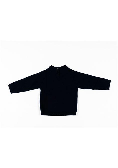 IL GUFO | wool sweater | ILG234BLU