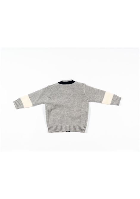 IL GUFO | wool sweater | ILG235GRIGIO
