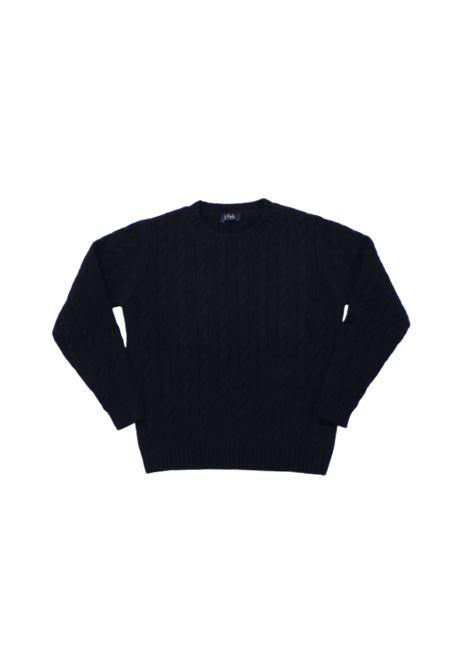 IL GUFO | wool sweater | ILG253BLU