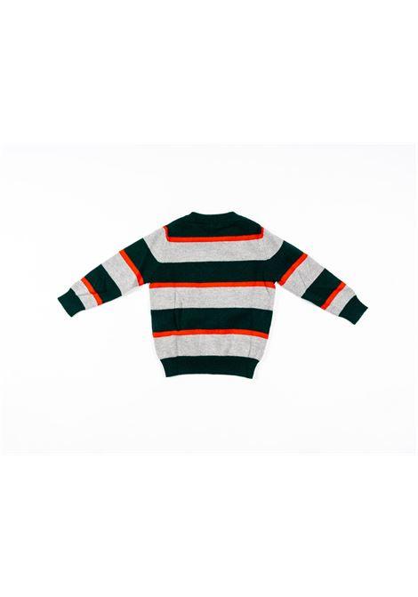 IL GUFO | wool sweater | ILG256GRIGIO VERDE
