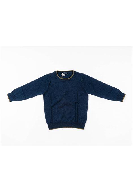 IL GUFO | wool sweater | ILG257BLU