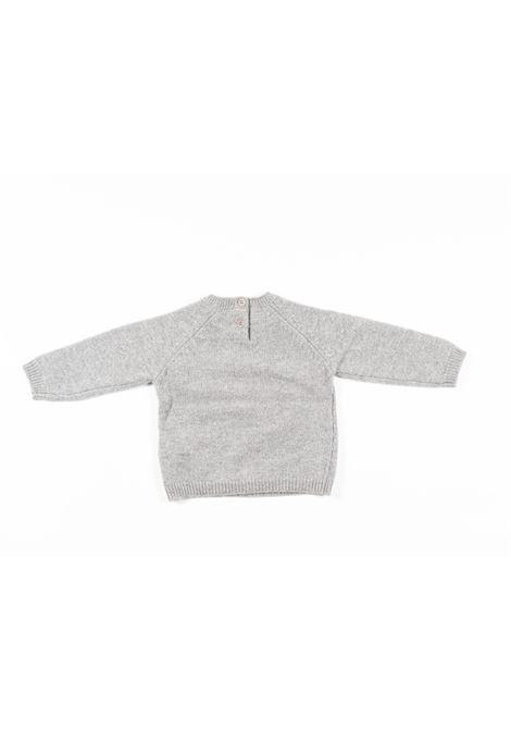IL GUFO | wool sweater | ILG293GRIGIO ROSA