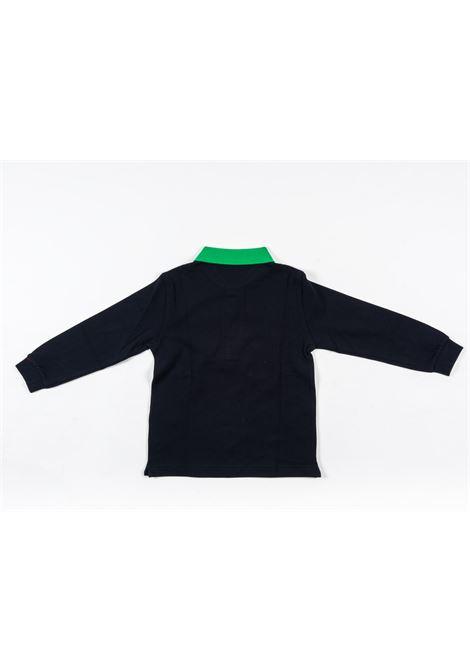 IL GUFO | T-shirt | ILG319BLU VERDE