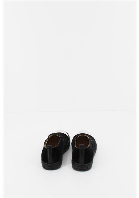 IL GUFO   Sneakers   SNEAK055NERA-ARGENTO