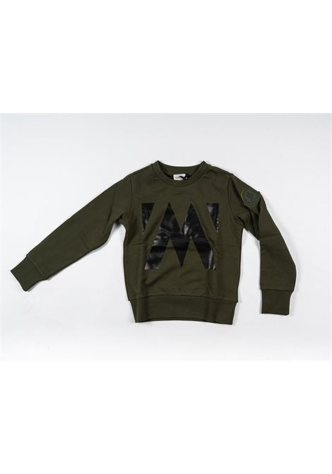 MONCLER   sweatshirt   MON185VERDE