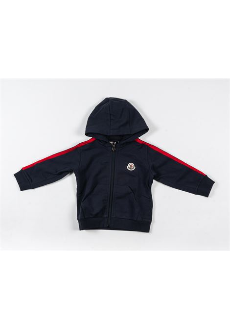 MONCLER   sweatshirt   MON191BLU