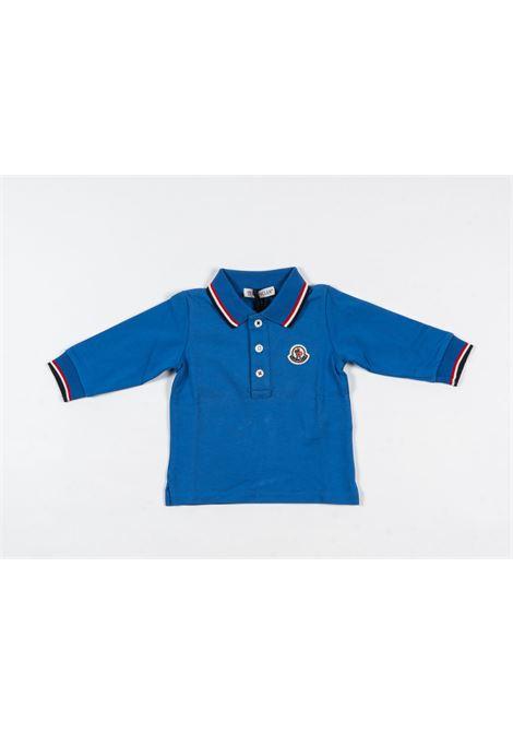 Polo Moncler MONCLER | T-shirt | MON194BLUETTE