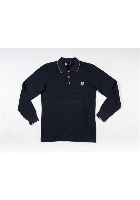 Polo Moncler MONCLER | T-shirt | MON206BLU