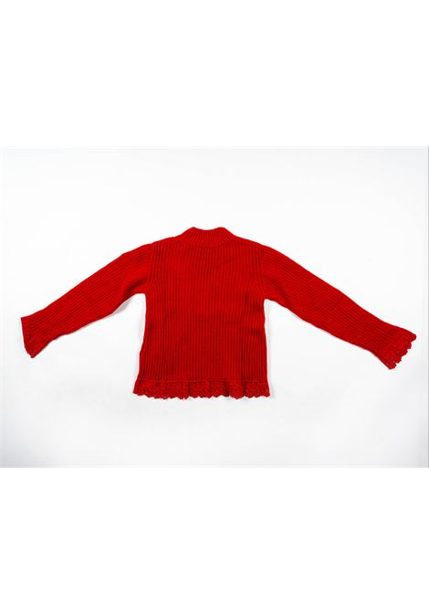 MONCLER | wool sweater | MON27ROSSO