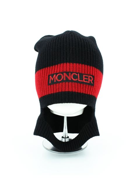 MONCLER | hat | MOND2954NERO ROSSO