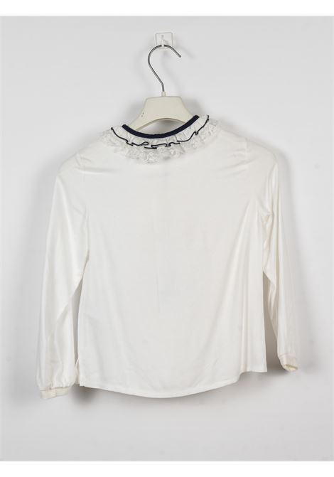Camicia Monnalisa MONNALISA | Camicia | MONN124BIANCO BLU