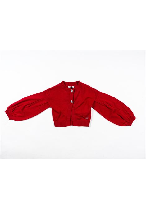 MONNALISA | wool sweater | MONN47BORDEAUX