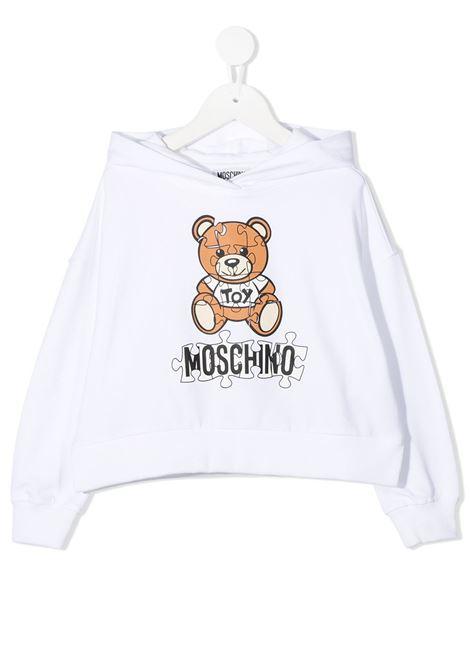 MOSCHINO | sweatshirt | MOS118BIANCO