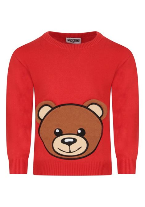 MOSCHINO | wool sweater | MOS128ROSSO
