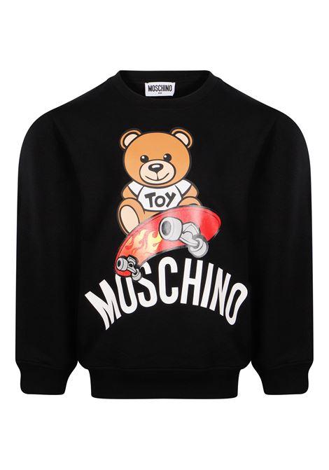 MOSCHINO   sweatshirt   MOS139NERO