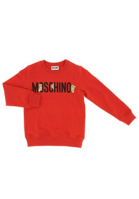 Felpa Moschino MOSCHINO   Felpa   MOS140ROSSO
