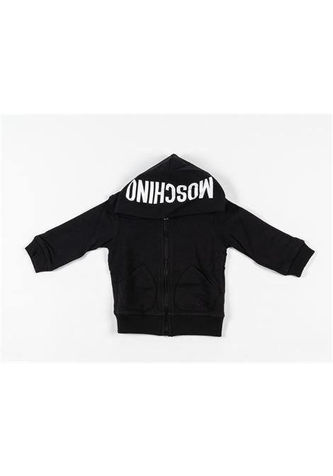 MOSCHINO | sweatshirt | MOS163NERO