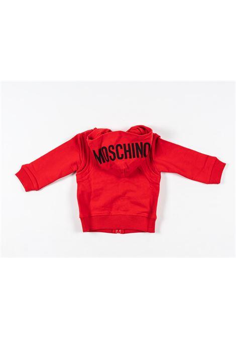 MOSCHINO | sweatshirt | MOS163ROSSO
