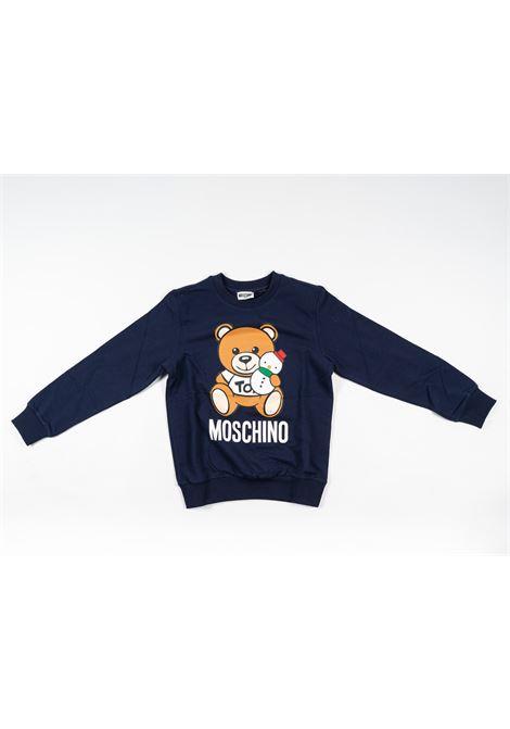 MOSCHINO | sweatshirt | MOS169BLU