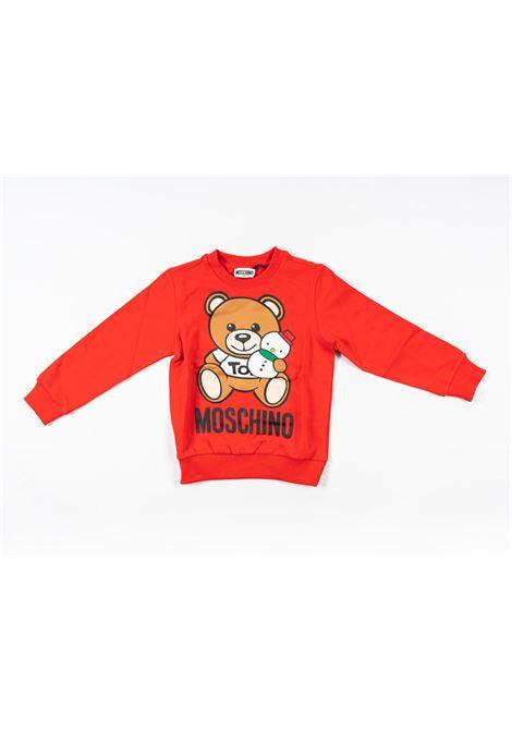 MOSCHINO | sweatshirt | MOS169ROSSO