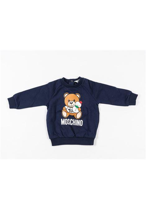 MOSCHINO | sweatshirt | MOS170BLU