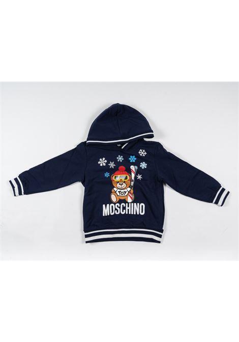 MOSCHINO | sweatshirt | MOS173BLU