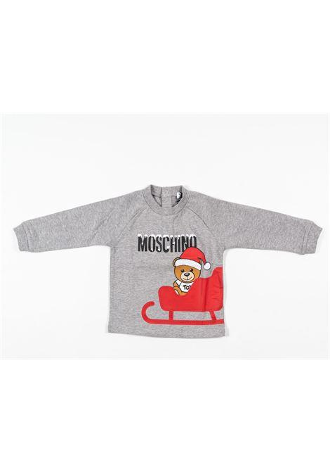 MOSCHINO | t-shirt long sleeve | MOS176GRIGIO