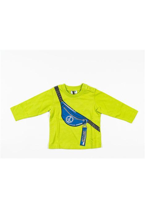 MOSCHINO | t-shirt long sleeve | MOS177VERDE